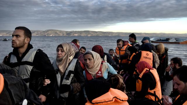 Meer dan miljoen vluchtelingen in Europa in 2015