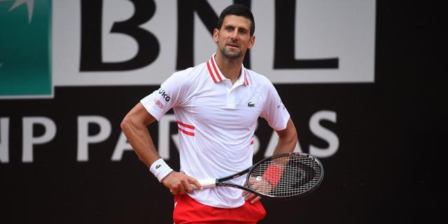 Djokovic wint zonder setverlies van Fritz op Masters-toernooi in Rome