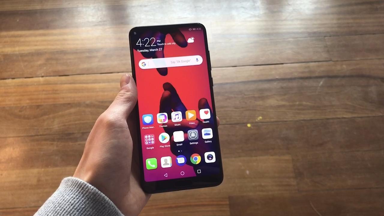 Huawei P20 heeft drie camera's achterop