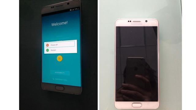 Galaxy Note 5: Alle gelekte foto's en details van Samsungs nieuwe phablet