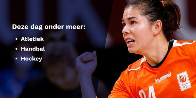 Olympische uitslagen 31 juli: deze Nederlanders komen in actie