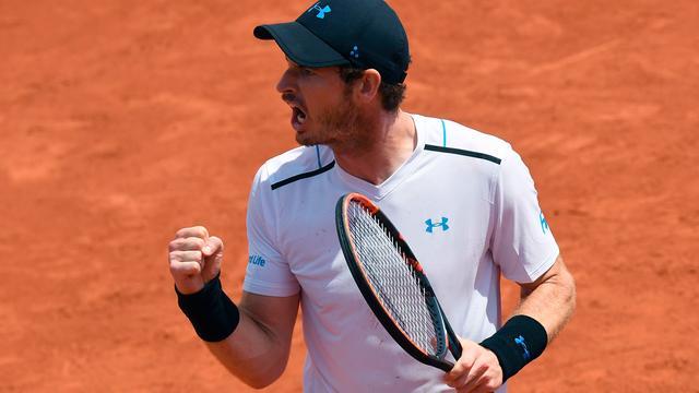 Murray ziet zijn niveau per wedstrijd stijgen op Roland Garros