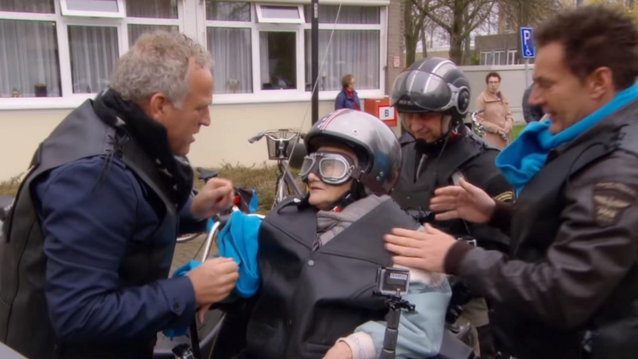 Geer en Goor helpen oudere met motorhobby
