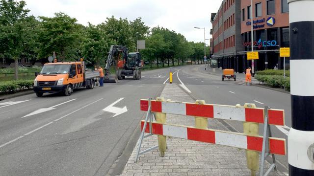 Werk aan Tramsingel begonnen