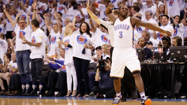 Oklahoma City Thunder nadert NBA-finale na derde zege op Golden State