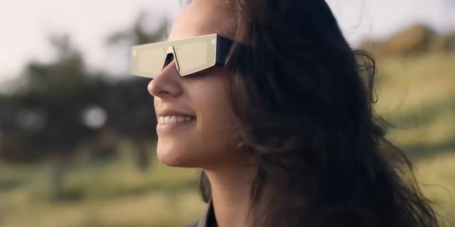 Snap presenteert nieuwe bril die beelden op de glazen projecteert