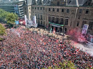 'Ik denk dat iedereen een fantastische dag heeft in Rotterdam'