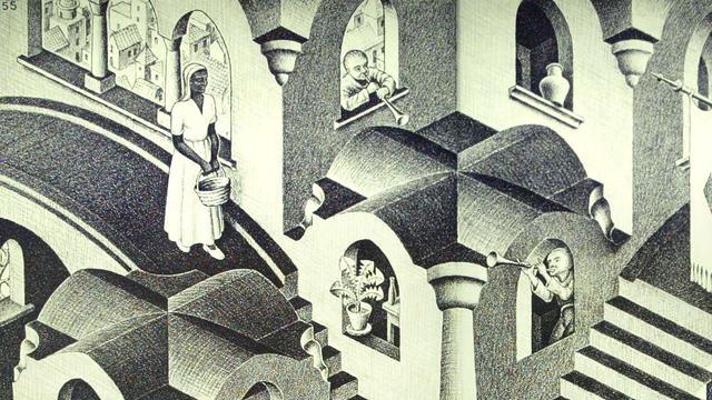 'Escher-museum in Den Haag hangt vol replica's'