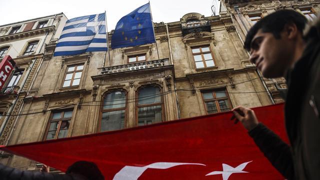 Griekse rechter staat uitlevering Turkse militairen niet toe