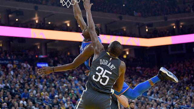 Warriors verliezen koppositie NBA ondanks vijftig punten Durant