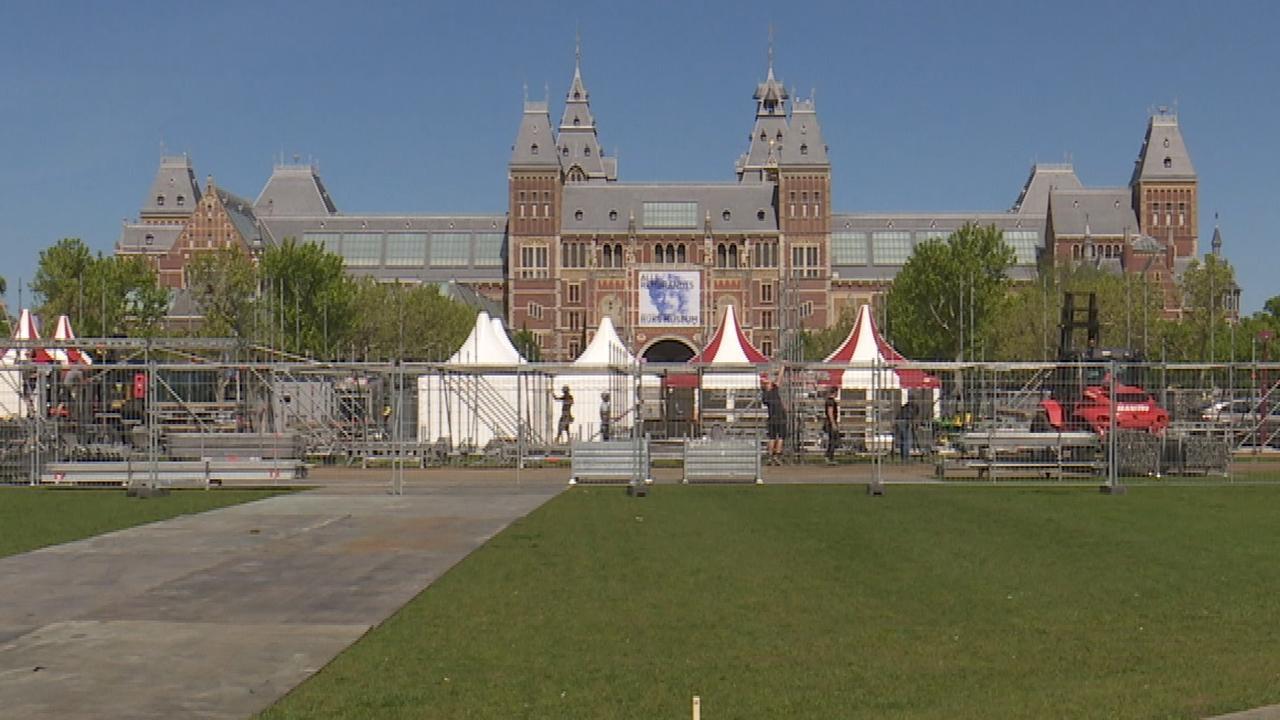 Amsterdam begint met voorbereidingen op huldiging Ajax