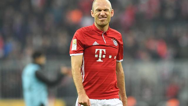 Bayern wint met invaller Robben moeizaam van Leverkusen