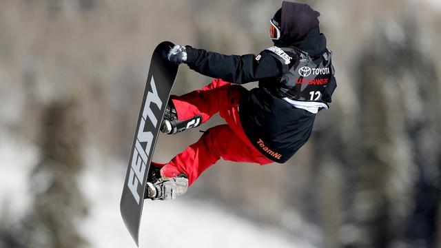 Snowboardster Maas ondanks hielblessure fit genoeg voor Spelen
