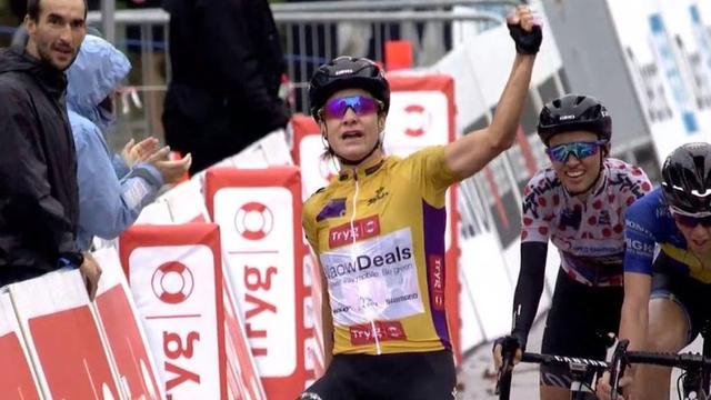 Vos steviger in leiderstrui door tweede ritzege in Ronde van Noorwegen