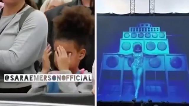 Dochtertje duikt weg voor sexy scènes in clip Beyoncé & Jay-Z