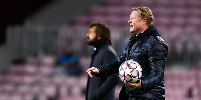 Koeman ziet angst bij Barcelona: 'We speelden om niet te verliezen'