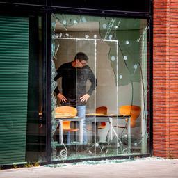 Burgemeester Van Aartsen noemt aanval op gebouw Panorama 'gerichte actie'
