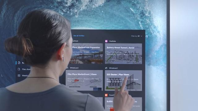 Microsoft presenteert de Surface Hub 2