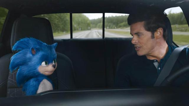 Sonic the Hedgehog heeft nieuw uiterlijk gekregen in liveactionfilm