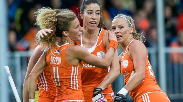 Hockeysters ook te sterk voor Japan in groepsfase World League