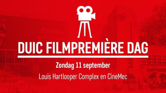 DUIC Filmpremière Dag: 5 films voor maar 25 euro