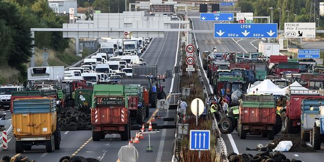 Nieuwe snelwegblokkades door Franse boeren