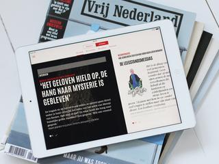 Vrij Nederland eerste titel met losse Blendle-app
