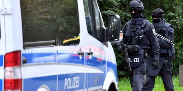 Duitse politie arresteert terreurverdachte uit Chemnitz