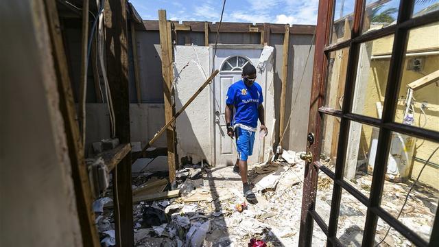 Dodental Bahama's door Dorian blijft stijgen, VS wil getroffenen opvangen