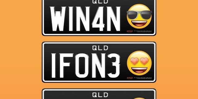 Australiërs kunnen emoji aan kenteken toevoegen