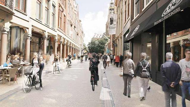 Bussen verdwijnen in september uit Brugstraat