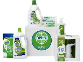 Ontdek de producten van Dettol met de allernieuwste Dettol box