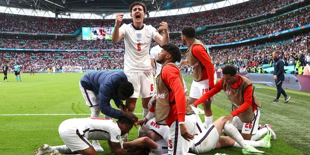 Engeland wint kraker tegen Duitsland en bereikt kwartfinales op EK