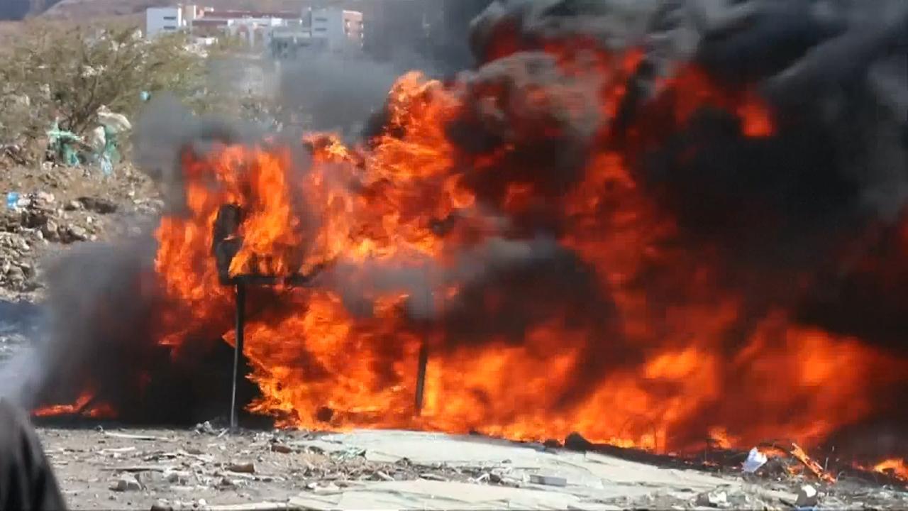 Kaapverdische politie verbrandt 9,5 ton cocaïne
