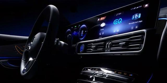Eerste foto's elektrische Mercedes-Benz EQ C online