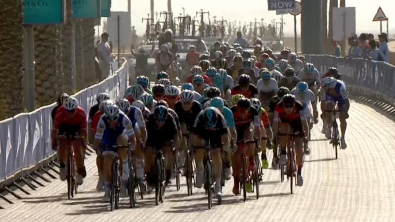 Hoogtepunten eerste etappe Ronde van Dubai