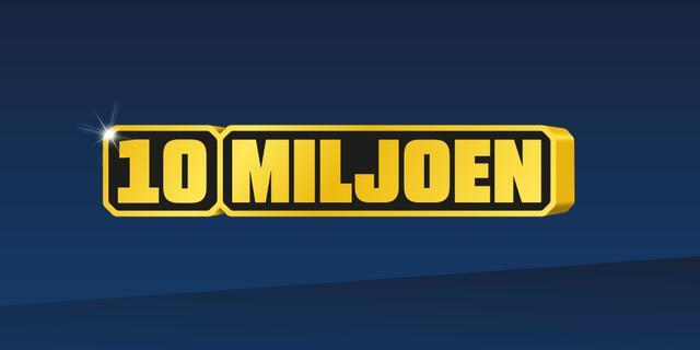 De verwachtte Eurojackpot staat op 10 miljoen
