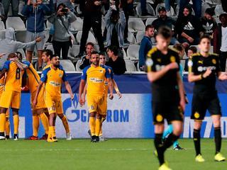 Dortmund komt bij APOEL niet verder dan 1-1
