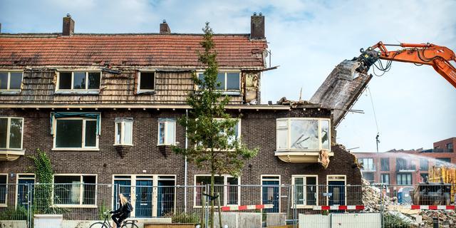 Bewoners Grunobuurt verzetten zich tegen sloopplannen