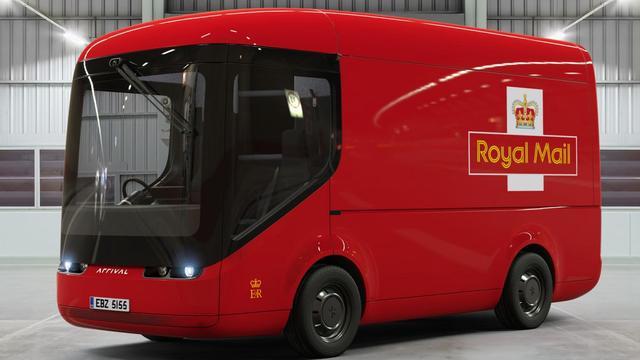 Britse postbedrijf Royal Mail voegt elektrische busjes toe aan vloot