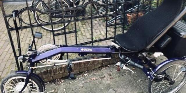 Verlamde Utrechter bestolen van speciale driewieler