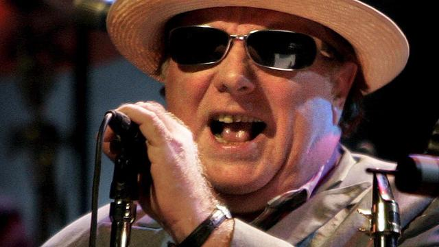 Van Morrison treedt op tijdens Holland International Blues Festival
