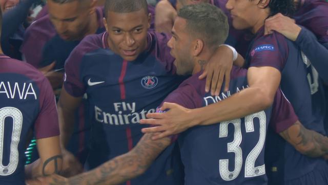 Dani Alves schiet PSG op aangeven van Neymar op 1-0