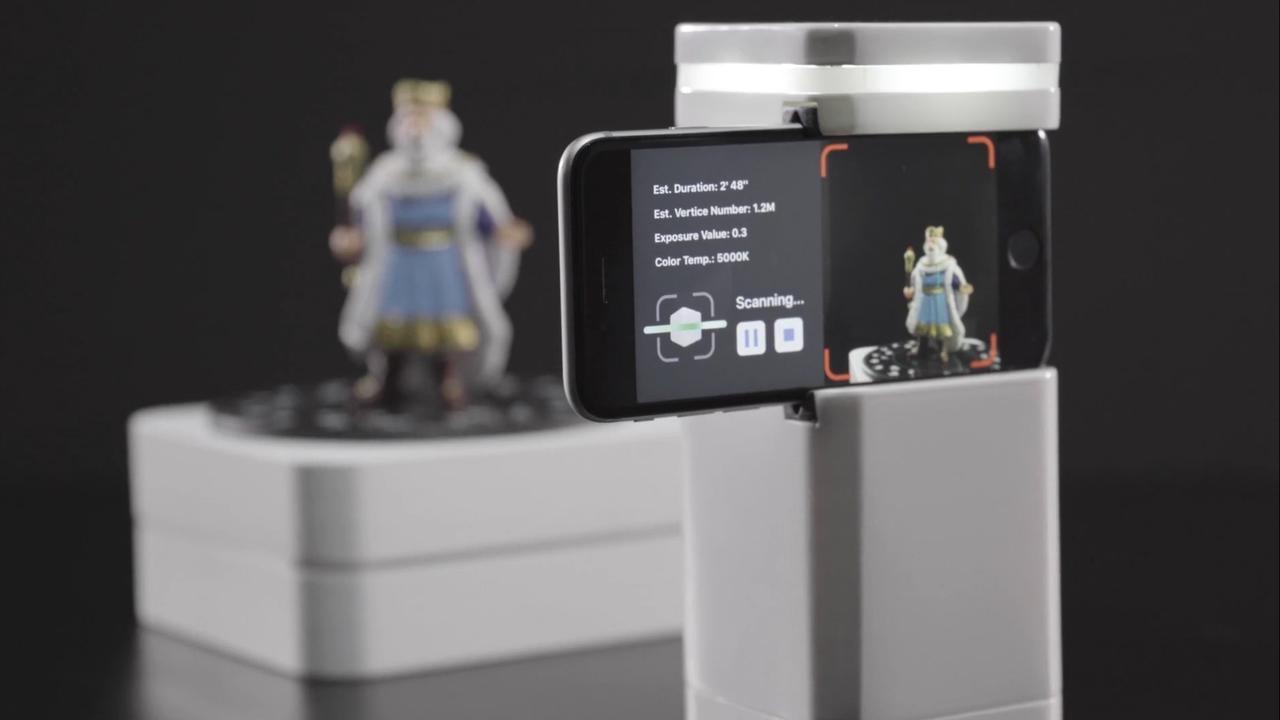 Canadese start-up introduceert 3D-scanner voor smartphones