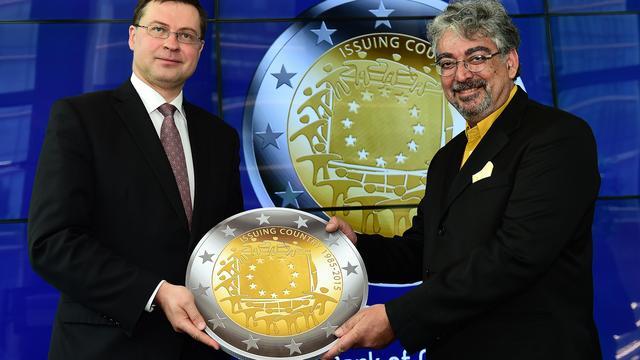 Europese herdenkingsmunt krijgt Grieks ontwerp