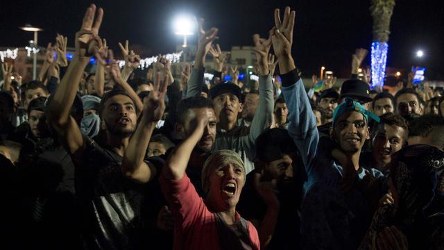 Opnieuw protesten in Marokko vanwege dood visverkoper