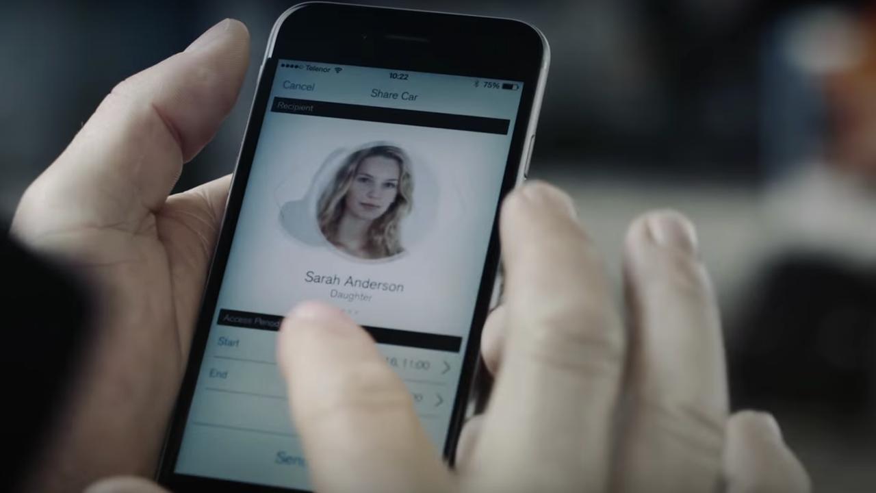 Volvo laat auto's starten met smartphone
