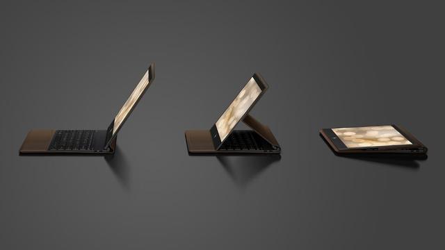 HP presenteert hybride laptop met leren behuizing