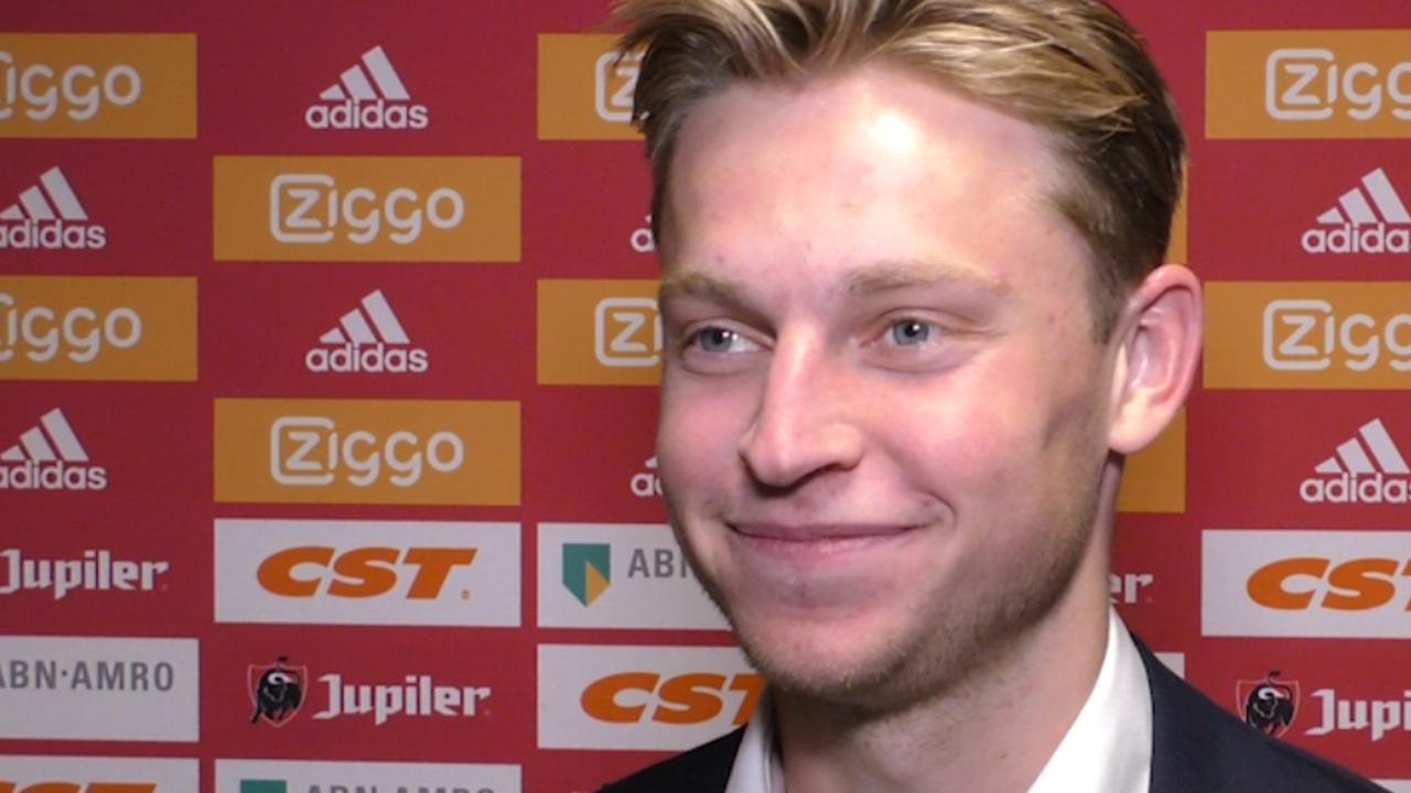 De Jong spreekt van 'mooie' laatste thuiswedstrijd voor Ajax