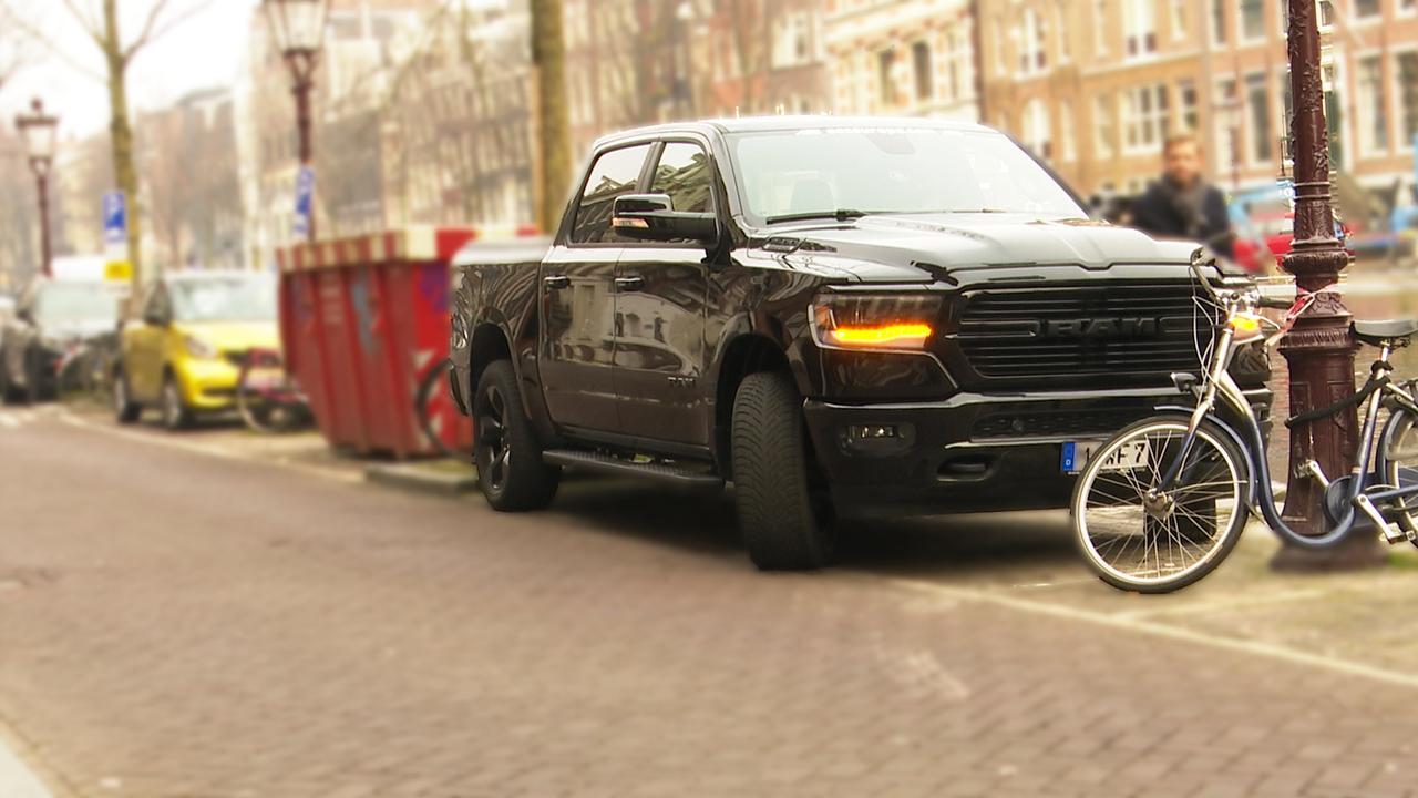 Pick-uptruck populair, maar kun je die in de stad parkeren?